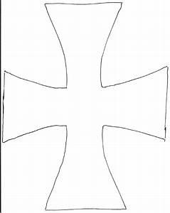 Knight Tunic Cross Template 0001 | Scribd | Kids ...