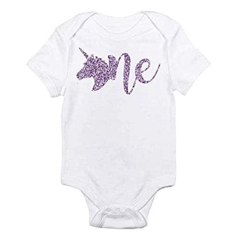 First birthday gift ideas don't have to be toys. Amazon.com: Unicorn First Birthday Onesie Bodysuit Girls ...