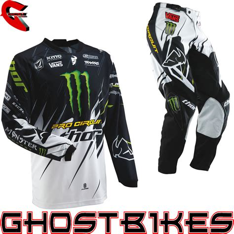 monster energy motocross gear thor 2013 phase s13 pro circuit monster energy mx