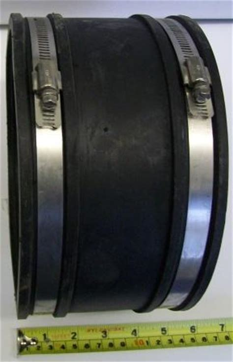 Flexible Rubber Pipe Connector Mm Mm Plumbers