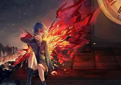 Wings Fire Tokyo Anime Ghoul Touka Kirishima