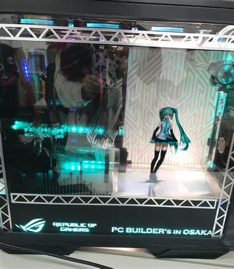 custom pc case mod        anime