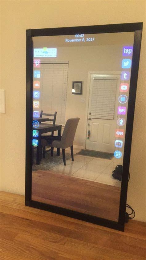 eve smart mirror interactive smart mirror   app
