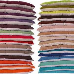Glasplatte 100 X 40 : sitzkissen 40x40 cm stuhlkissen dekokissen garten wohnung auflage 100 baumwolle ebay ~ Bigdaddyawards.com Haus und Dekorationen