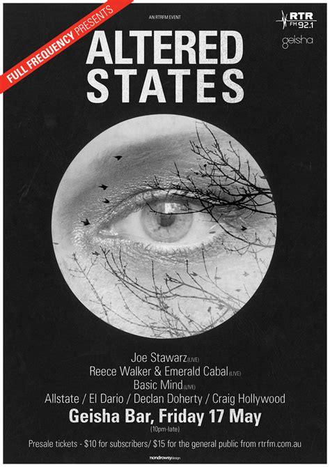 Altered States « Rtrfm  The Sound Alternative