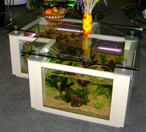 aquarium furniture creative coffee table aquarium home