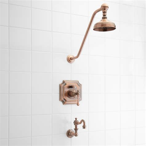 Bath Tub Set by Vintage Pressure Balance Tub And Shower Faucet Set With