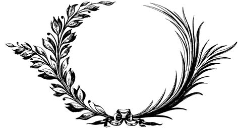 ivy wreath clipart