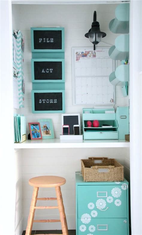 12 big ideas for small space home offices brit co