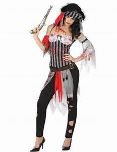 Maquillage Pirate Halloween : griezelig bebloed piraten halloween kostuum voor dames ~ Nature-et-papiers.com Idées de Décoration