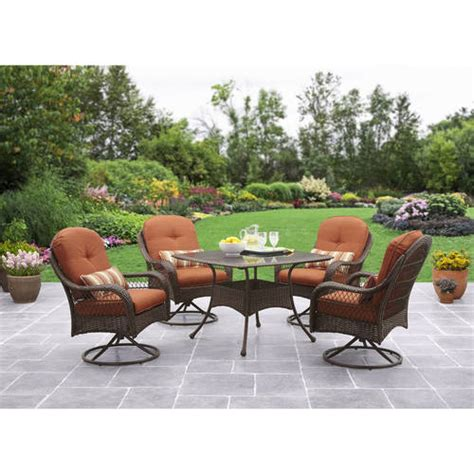 better homes and gardens patio furniture azalea better homes and gardens azalea ridge 5 patio dining