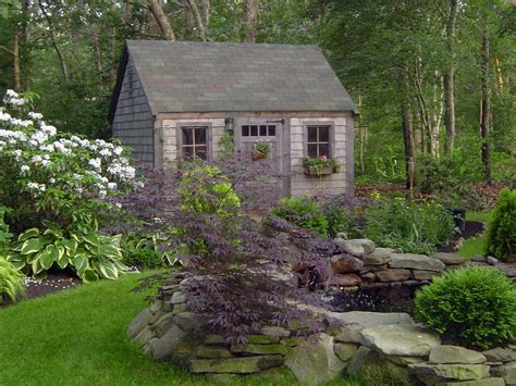 landscaping around a garden shed our favorite diy gardens from rate my space diy landscaping landscape design ideas plants