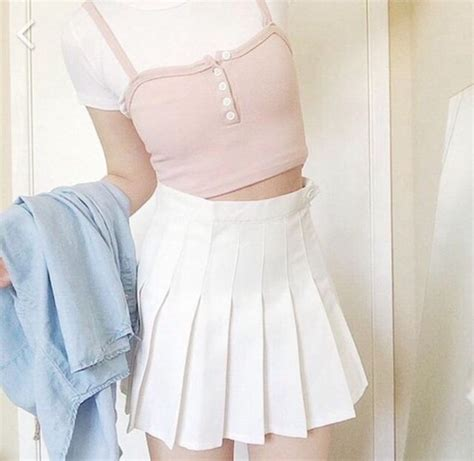 Shirt light pink tumblr aesthetic tumblr aesthetic grunge summer outfits - Wheretoget