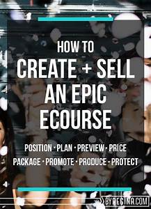 Online Business Ideen : how to create an online course that sells tipps pinterest business ideen hilfreiche ~ Eleganceandgraceweddings.com Haus und Dekorationen