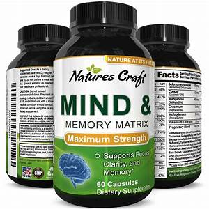 Mind Enhancement Pills Memory And Sharpen Focus Supplement For Mental Clarity