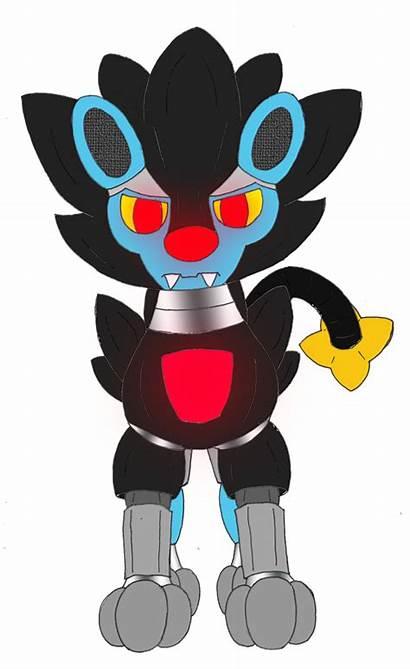 Luxray Unownace Robot Deviantart