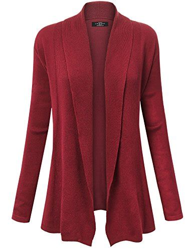 Draped Cardigans For - mbj womens open front draped knit shawl cardigan import