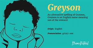 Greyson Name Meaning Origin Popularity Boy Names Like