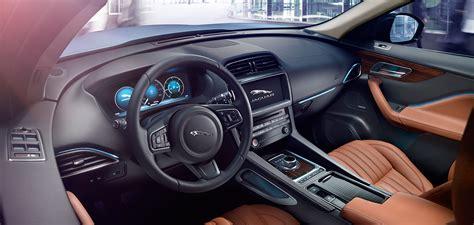 jaguar  pace features interior