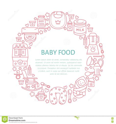 Vector Illustration Of Mother Breastfeeding Baby Vector