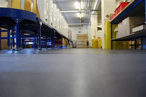 industrial flooring 5 things you need to look for