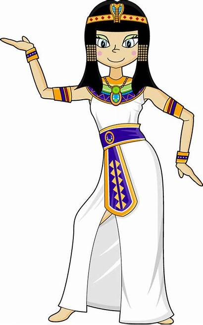Egyptian Egypt Clipart Ancient Dance Cat Woman