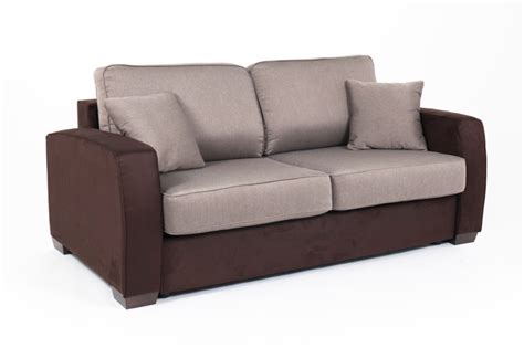 canapé convertible couchage 160 canape convertible couchage 160 cm ellipse micro 23