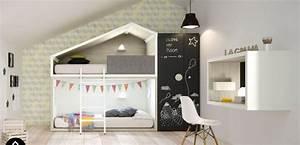 Un lit cabane pour une chambre d'enfant • Aventure Déco