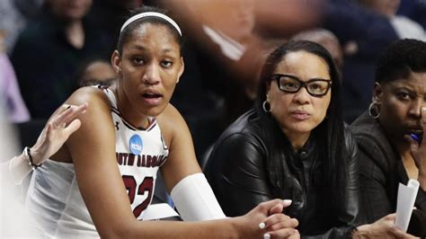 dawn staley helped aja wilson overcome dyslexia fear