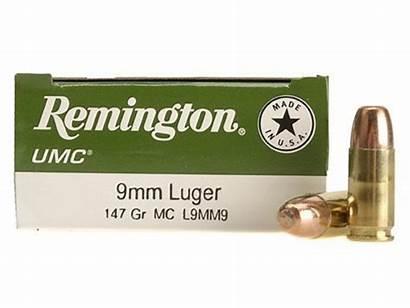 9mm Ammo 147 Remington Umc Luger Grain