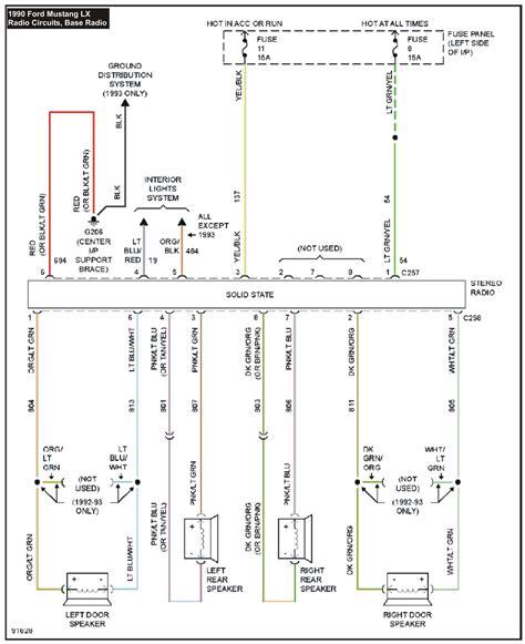 ford   radio wiring diagram wiring diagram