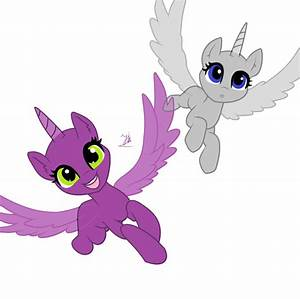 Mlp Filly Alicorn Base Together With Monster Mlp Pony Base Further My in November 2017 VM info