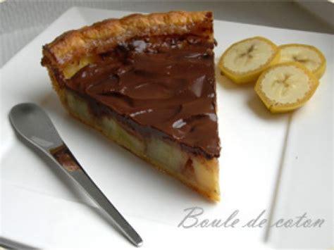 cuisine sans gluten sans lait tarte banane chocolat recette ptitchef