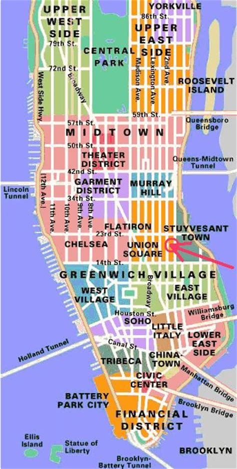 map  manhattan ideas  pinterest
