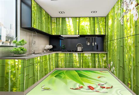 wallpaper custom  floor tiles fresh bamboo wallpaper