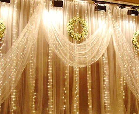Weihnachtsdeko Fenster Led Vorhang Eiszapfen Lichterkette