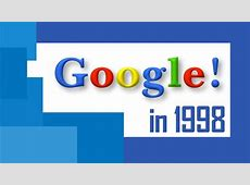 Old Google website as in 1998 Easter Egg YouTube