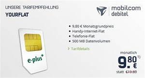 Mobilcom Rechnung : crash tarife deal mobilcom debitel yourflat f r 7 80 ~ Themetempest.com Abrechnung