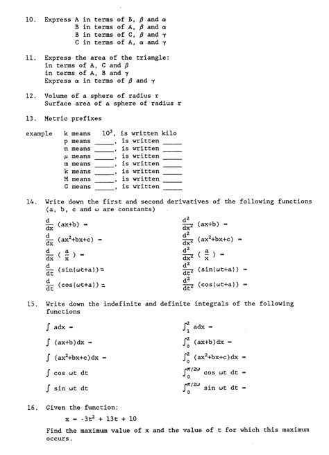 college math review worksheets 1000 images about math on