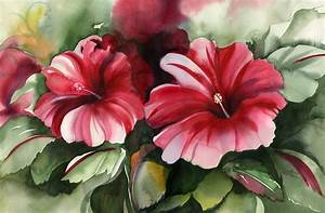 35+ Awesome Flowers Painting   Free & Premium Creatives