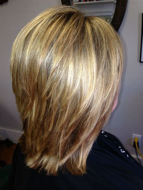 Hairstyles With Texture by Medium Length Style With Layers For Texture And Movement