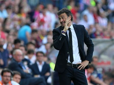 FC Barcelona Manager Luis Enrique Non-Committal on his ...