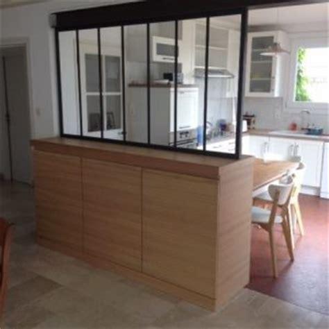 comptoir separation cuisine salon meuble de separation pour cuisine ouverte cuisine en image