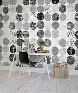Papier Peint Rayé Gris Et Blanc : comment meubler et d corer un bureau scandinave blanc ~ Dailycaller-alerts.com Idées de Décoration