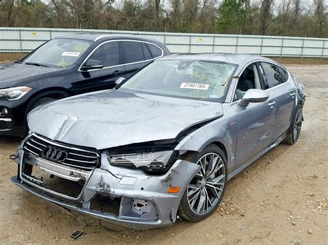 2018 audi a7 competi 3 0l 6 in tx houston wauw3afc9jn072891 for sale autobidmaster