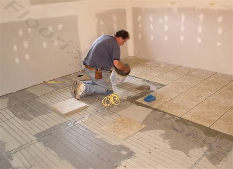 Suntouch Floor Heating Install by Suntouch Warmwire Kit Flooring Supply Shop