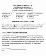 Pictures of Insurance Claim Release Form