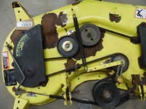 john deere gt235 48 48c mower cutting deck lx279 lx280