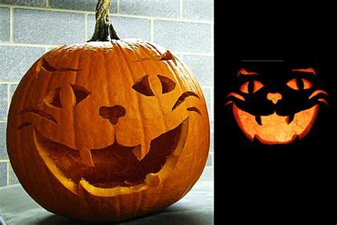 Halloween Cat Pumpkin Carving