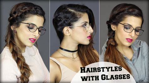 min easy everyday hairstyles  people  glasses